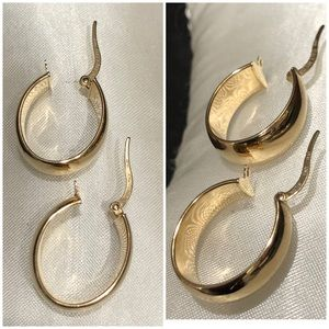 18KT Yellow Gold Milor Italy Clip Earrings